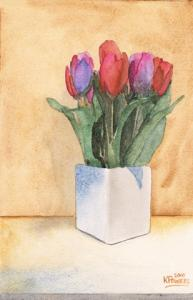Tulip Painting And An Appreciation For Floral Painters